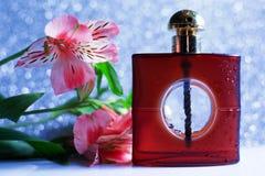 Perfumería, cosméticos, colección de la fragancia foto de archivo libre de regalías