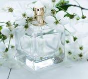 Perfumería, cosméticos, colección de la fragancia imagenes de archivo