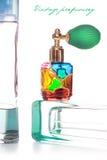 Perfumería de la vendimia imagen de archivo