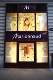 Perfumería de Marionnaud Imagenes de archivo