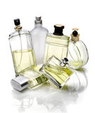 Perfumery bottles Stock Photos