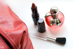 Perfumery and cosmetics Stock Photography