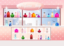 Perfumery royalty free illustration