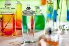 Perfumes in the barhroom Stock Photo