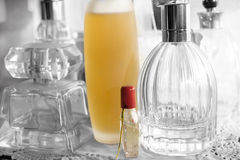 Perfumes and charm and appeal Stock Images