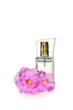 Perfumes and flower Royalty Free Stock Image