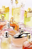Perfumes set Stock Images