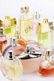 Perfumes set Stock Photos