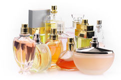Perfumes set Royalty Free Stock Image