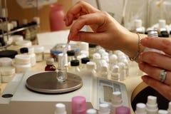 perfumista imagen de archivo libre de regalías
