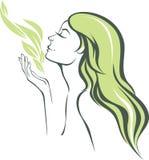 Perfumowanie natura ilustracja wektor