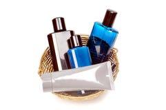 Perfums und deodrant Flaschen Lizenzfreie Stockfotografie