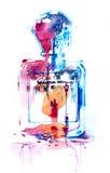 perfumy Ilustracji