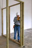 Perfuração do carpinteiro Foto de Stock Royalty Free