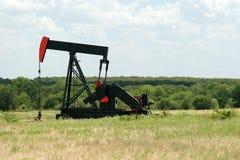 Perfuração para a exploração do petróleo de Texas Foto de Stock Royalty Free