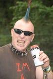 Perfurações do punk rock imagem de stock royalty free