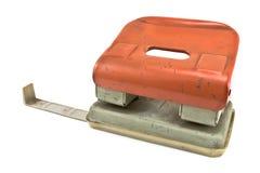 Perfurador de furo velho do papel do escritório Imagem de Stock