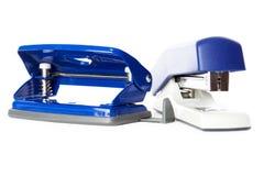 Perfurador e grampeador Imagem de Stock