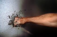 Perfurador na parede ilustração stock