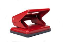 Perfurador vermelho Fotos de Stock Royalty Free