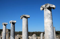 Perga Ancient City, Antalya. Stock Photos