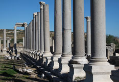 Perga Ancient City, Antalya. Stock Image
