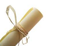 Pergamena. Fotografia Stock Libera da Diritti