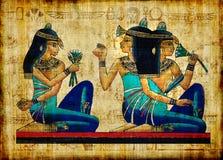 Pergamena antica Immagini Stock