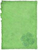 Pergamena celtica Fotografie Stock Libere da Diritti