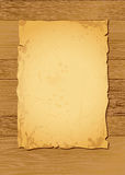 Pergamena di legno chiara Fotografie Stock