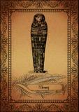 Pergamena-Egiziano Fotografia Stock Libera da Diritti