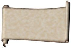 Pergament Stockbild