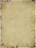 Pergament-Hintergrund-Beschaffenheit Stockbild