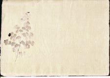 Pergament mit Einbeziehung. Lizenzfreies Stockfoto