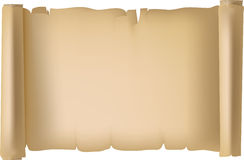 Pergament Paper. Parchment background on the basis of an old piece of a paper Royalty Free Stock Image