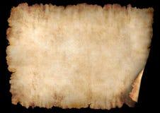 Pergaminho 2 horizontal Fotografia de Stock Royalty Free