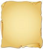 Pergaminho ilustração royalty free