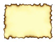 Pergaminho queimado das bordas ilustração do vetor