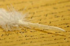 Pergamino Imagen de archivo libre de regalías