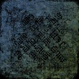 Pergamino antiguo 2 (piedra fresca) - fondo sucio Fotos de archivo libres de regalías