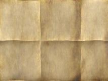 Pergamino antiguo Foto de archivo libre de regalías