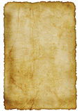 Pergamino antiguo Foto de archivo