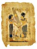 Pergamino egipcio Foto de archivo libre de regalías