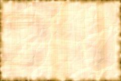 Pergamino horizontal. Foto de archivo libre de regalías
