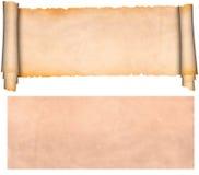 Pergamino medieval fotos de archivo libres de regalías