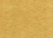 Pergaminowego tekstury tła prawdziwy wielki format Obraz Stock