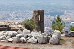 Pergamon stock afbeelding