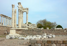 Pergamon Acropolis Royalty Free Stock Photo