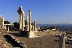 Pergamon akropol Arkivbild
