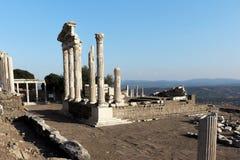Pergamon akropol Royaltyfria Foton